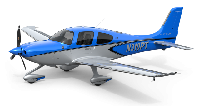 Explore the Cirrus SR22
